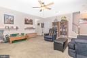 Family Room-Basement - 6801 OAKCREST CT, NEW MARKET