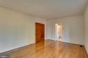 Bedroom #3 with Newly Refinished Floors - 405 FORBES ST, FREDERICKSBURG