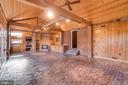 Exposed Beams and Newly Finished Flooring - 405 FORBES ST, FREDERICKSBURG