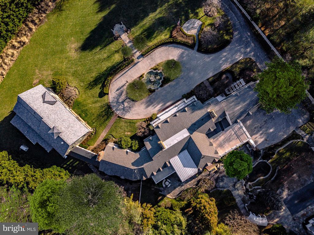 Aerial view - 11408 HIGHLAND FARM CT, POTOMAC
