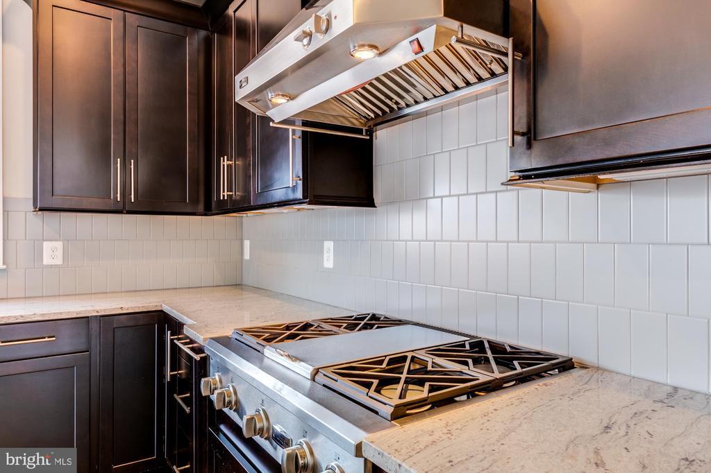 Upgraded stainless steel appliances w/ range hood - 41621 WHITE YARROW CT, ASHBURN