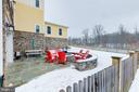 Peaceful feel in back yard overlooking open space - 41621 WHITE YARROW CT, ASHBURN