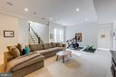 Perfect lower level floor plan for entertaining - 41621 WHITE YARROW CT, ASHBURN