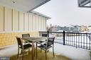 Upper level balcony located off hallway - 41621 WHITE YARROW CT, ASHBURN