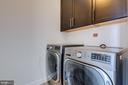 Laundry room on upper level - 41621 WHITE YARROW CT, ASHBURN