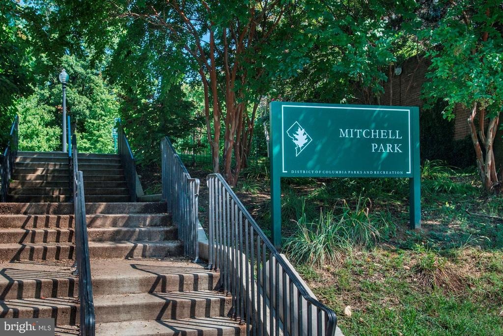 Mitchell Park, at 23rd and S St - 1901 WYOMING AVE NW #11, WASHINGTON