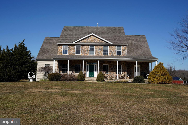 Maison unifamiliale pour l Vente à 271 GEORGETOWN Road Columbus, New Jersey 08022 États-Unis