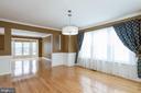 Huge Dining Room - 9310 CARONDELET DR, MANASSAS PARK