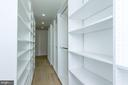 Owner's Walk in Closet has plenty of room. - 9310 E CARONDELET DR, MANASSAS PARK