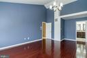 Owner's Suite view to En Suite - 9310 E CARONDELET DR, MANASSAS PARK