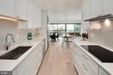 Accent lighting and Caesarstone counters - 2501 M ST NW #608, WASHINGTON