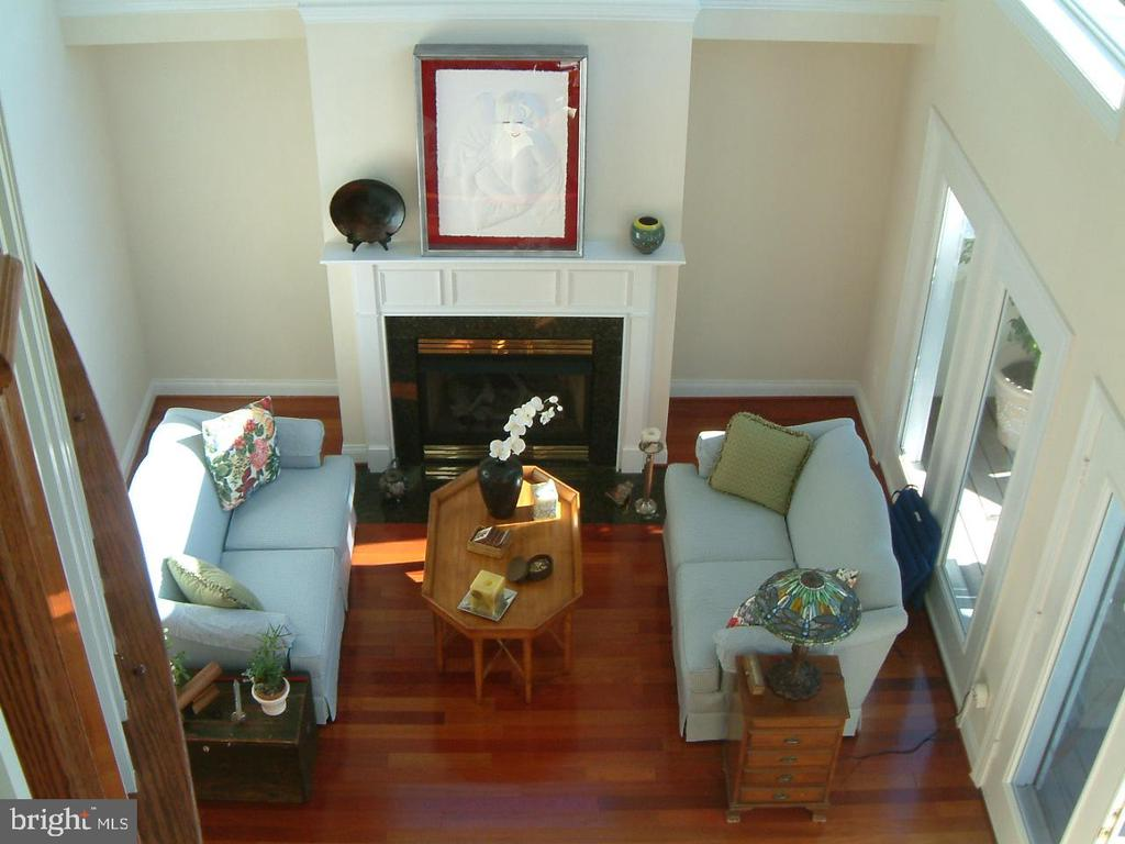 Living Room as seen from Reception Foyer - 2052 BEACON HEIGHTS DR, RESTON