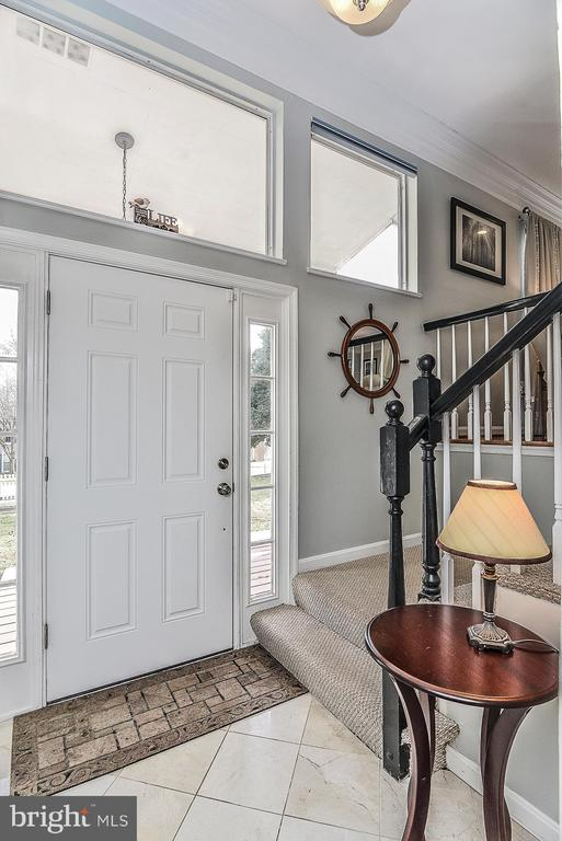 Foyer - 10522 GREENE DR, LORTON