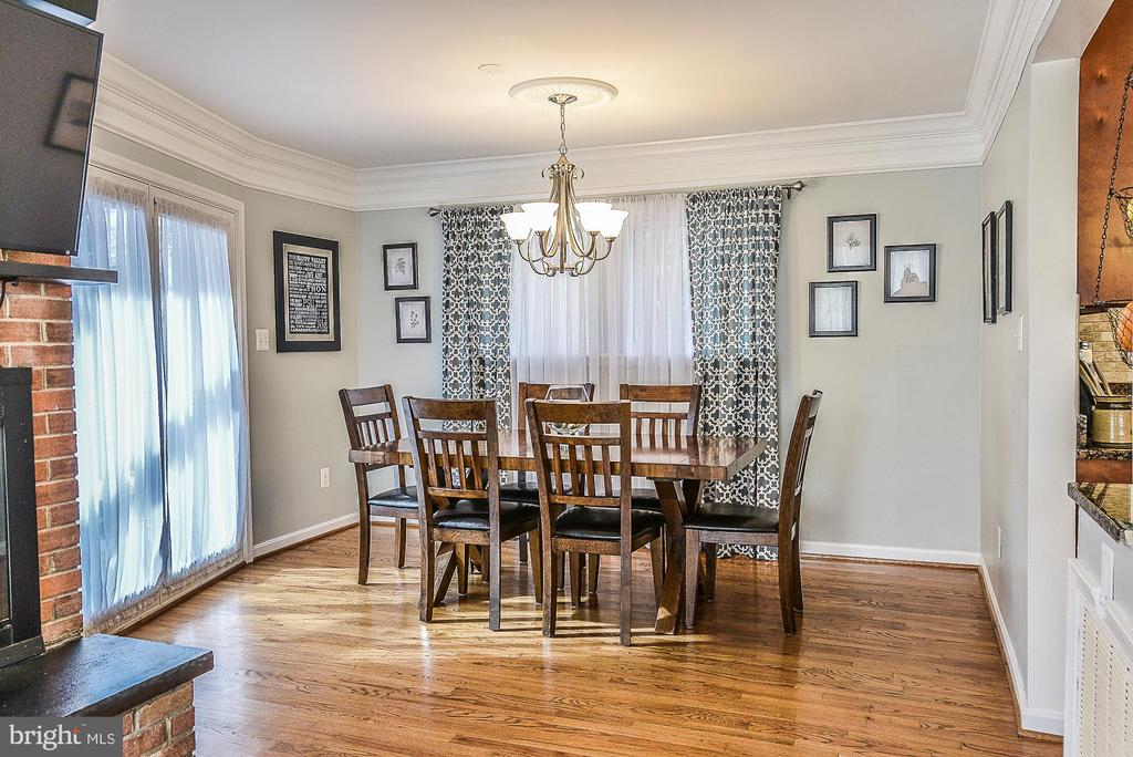 Dining Room - 10522 GREENE DR, LORTON