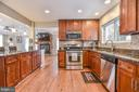 Kitchen - 10522 GREENE DR, LORTON