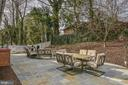 ~Flagstone stone patio - 10522 GREENE DR, LORTON