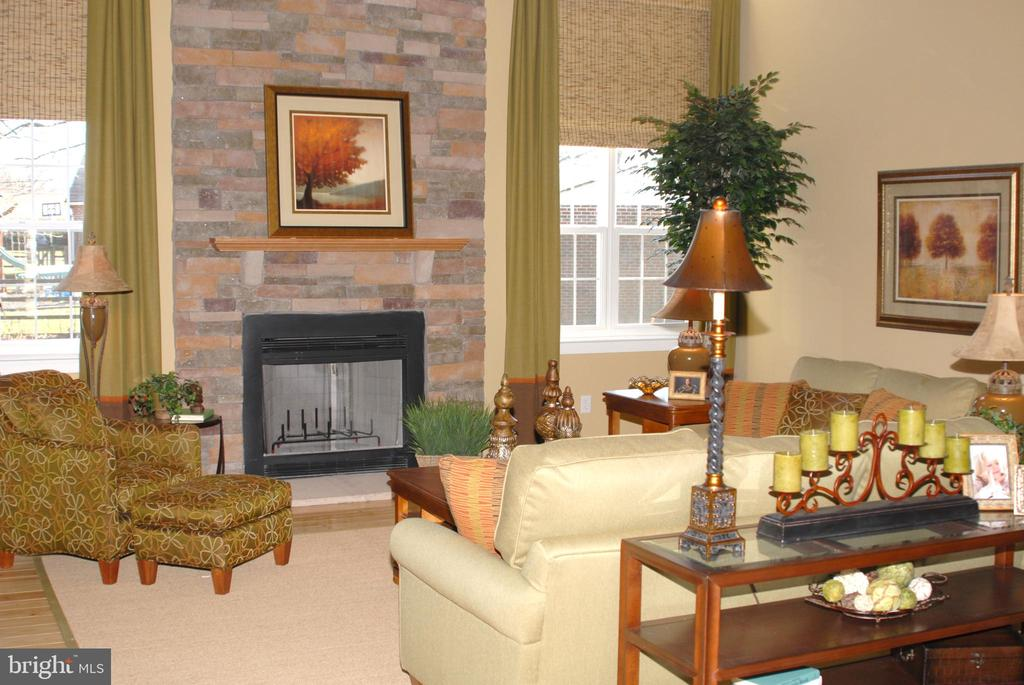 Example of optional fireplace - 1508 SIRANI LN E, GAMBRILLS
