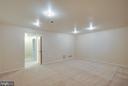 Basement/new carpet - 9920 WHITEWATER DR, BURKE