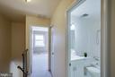 Upper level hallway - 9920 WHITEWATER DR, BURKE