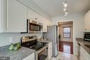 Kitchen with new granite countertops - 9920 WHITEWATER DR, BURKE