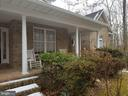 Beautiful Deep Brick Front Porch - 5 DEEP RUN RD, FREDERICKSBURG