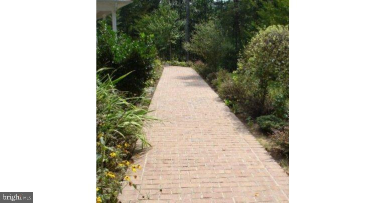 Brick Walk Way Leads to Large Deep Front Porch - 5 DEEP RUN RD, FREDERICKSBURG