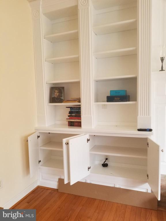 FR Custom Built In Book Cases on Either Side of FP - 5 DEEP RUN RD, FREDERICKSBURG