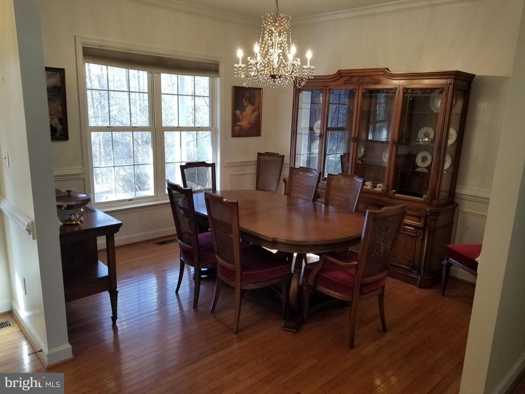 Main LVL Formal Dining Room Features HW Flrs. - 5 DEEP RUN RD, FREDERICKSBURG