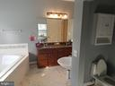 Master Bath Offers Private Water Closet - 5 DEEP RUN RD, FREDERICKSBURG