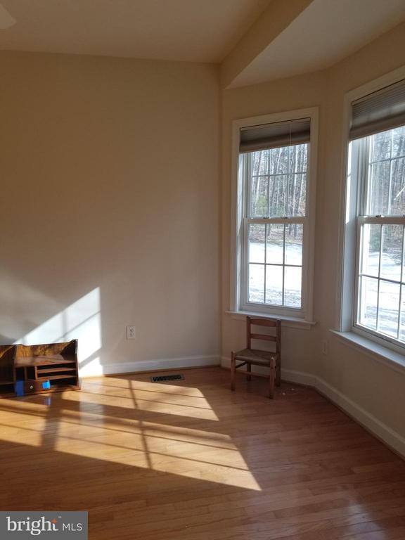 Main Flr BR w/ HW Flrs, Walk-in Closet &Bay Window - 5 DEEP RUN RD, FREDERICKSBURG