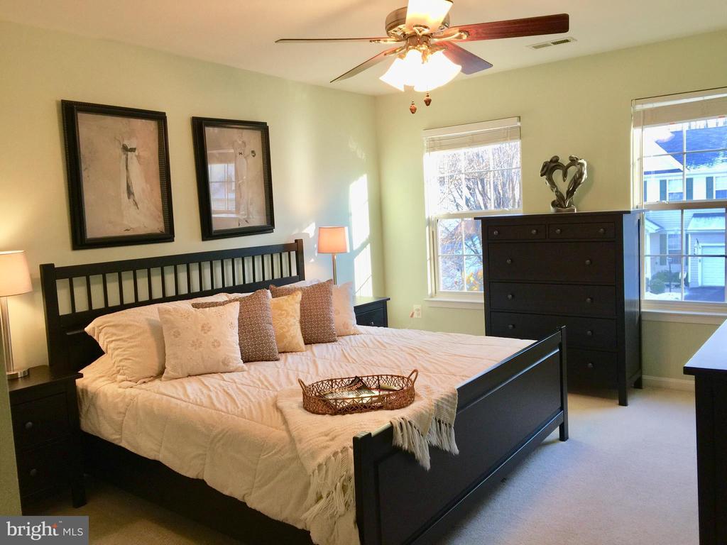 Large Master Bedroom w/ Large Walk-in Closet. - 5602 ASSATEAGUE PL, MANASSAS