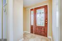 Handsome Entry Foyer to Warmly Invite your Guests. - 232 BIRCHSIDE CIR, LOCUST GROVE