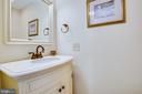 Half Bath on the Main Level - 232 BIRCHSIDE CIR, LOCUST GROVE