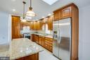 Cook's Dream Kitchen with Center Island. - 232 BIRCHSIDE CIR, LOCUST GROVE