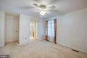 Main level, Master Bedroom - 232 BIRCHSIDE CIR, LOCUST GROVE