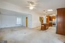 LR/DR area that is off & open to the Kitchen area. - 232 BIRCHSIDE CIR, LOCUST GROVE