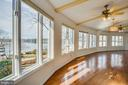 Gleaming Hardwood Floors in the Sun Room! - 232 BIRCHSIDE CIR, LOCUST GROVE