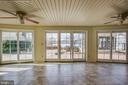 2nd Sun Room with Tiled Floor. - 232 BIRCHSIDE CIR, LOCUST GROVE
