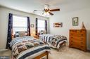 Great air flow! Ceiling fans in all bedrooms. - 98 GENEVIEVE CT, FREDERICKSBURG