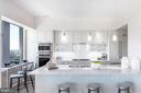 Kitchen - 4960 FAIRMONT AVE #PH-1, BETHESDA