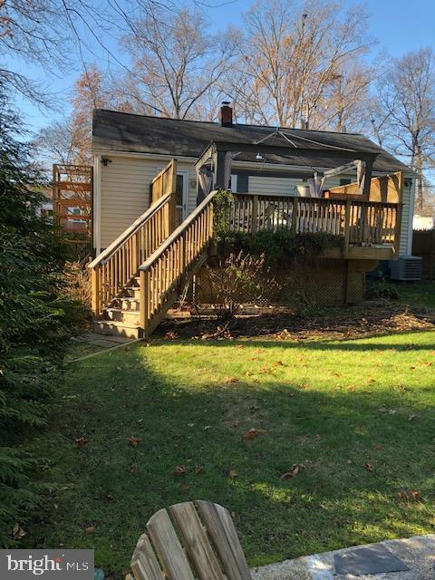 Nice Deck w Hot Tub~, Deck & Ample ~Back yard - 3719 HILL ST, FAIRFAX
