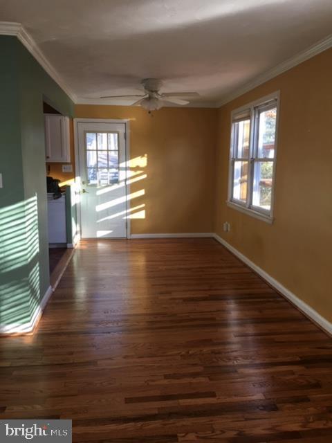 Dining Room w Hard Wood flooring - 3719 HILL ST, FAIRFAX