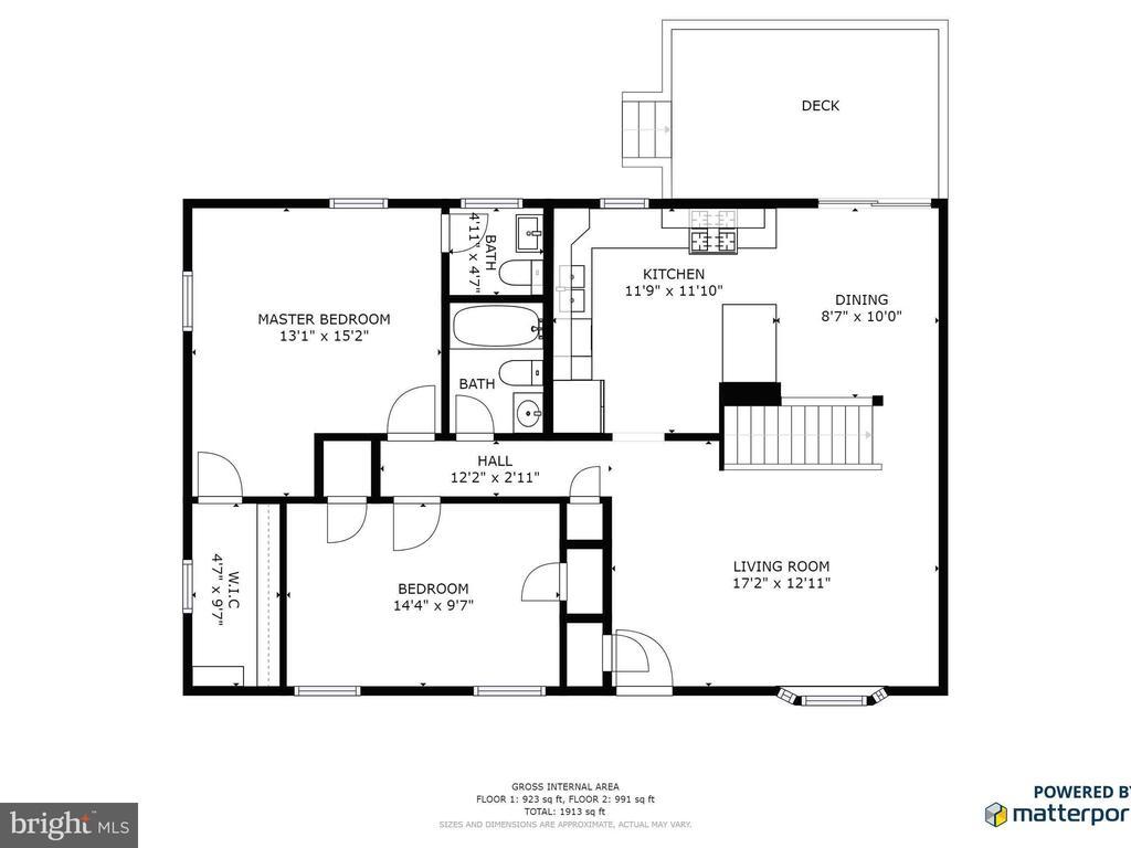 Main Floor Plan - 9716 LAFAYETTE AVE, MANASSAS