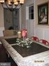 Wainscotting in formal dining - 1307 N GEORGE MASON DR, ARLINGTON