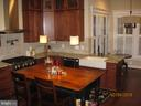 Maple cabinetry in the kitchen - 1307 N GEORGE MASON DR, ARLINGTON