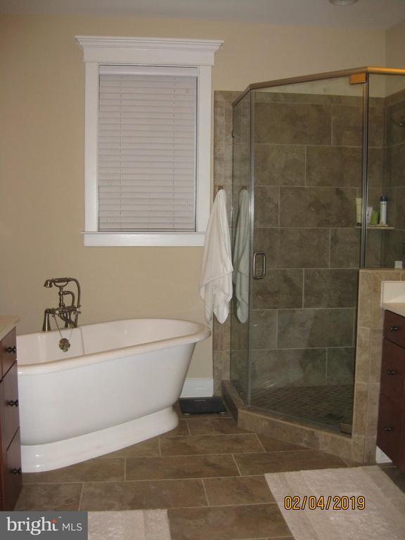 Master bath with soaking tub & built ins - 1307 N GEORGE MASON DR, ARLINGTON