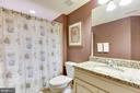 Lower Level Full Bath - 43368 VESTALS PL, LEESBURG