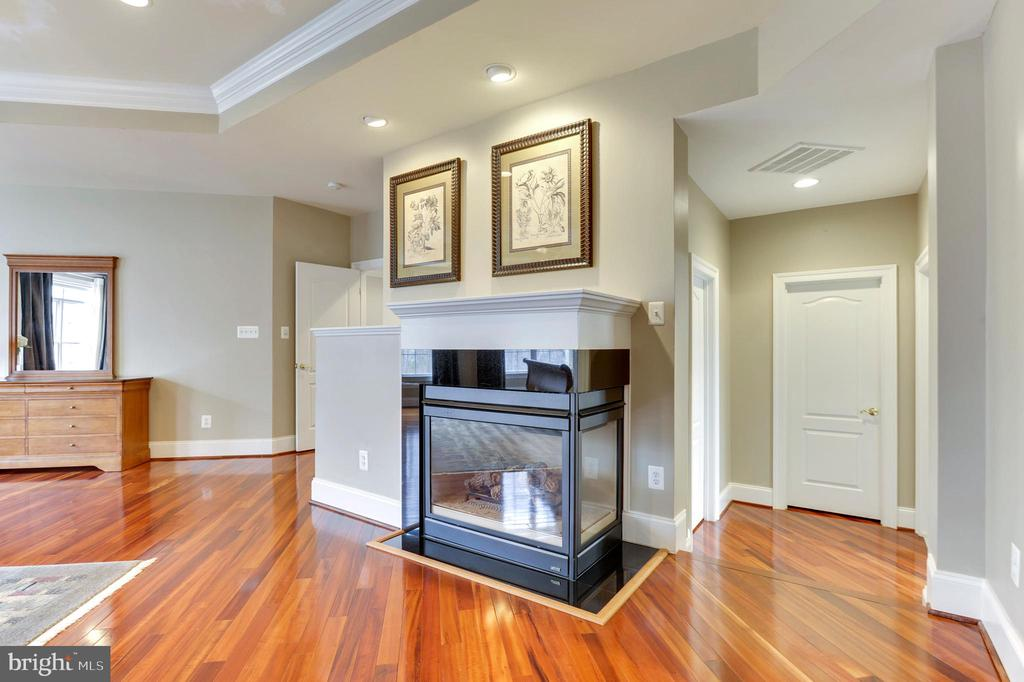 Master Bedroom Fireplace - 43368 VESTALS PL, LEESBURG