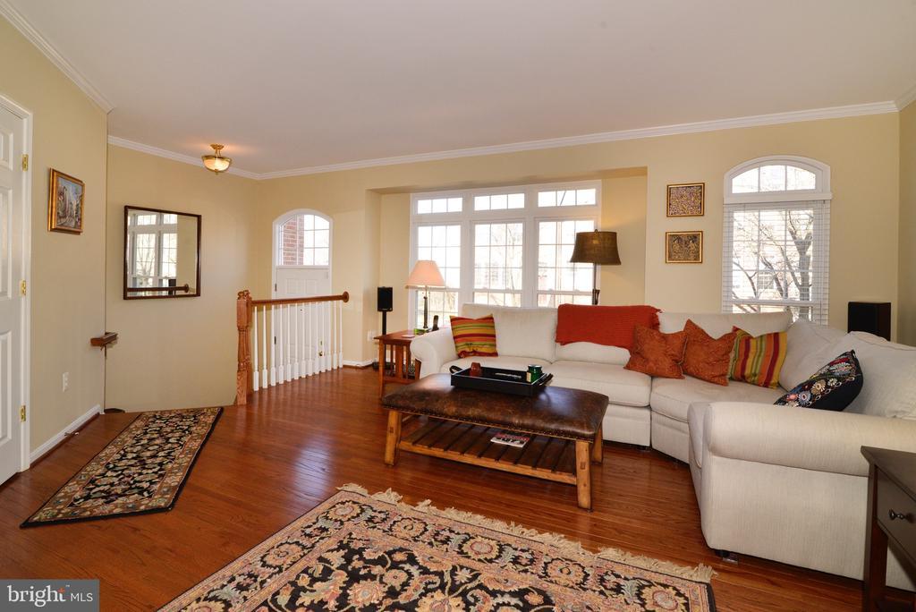 Handsome hardwood floors in Living Room - 12171 TRYTON WAY, RESTON