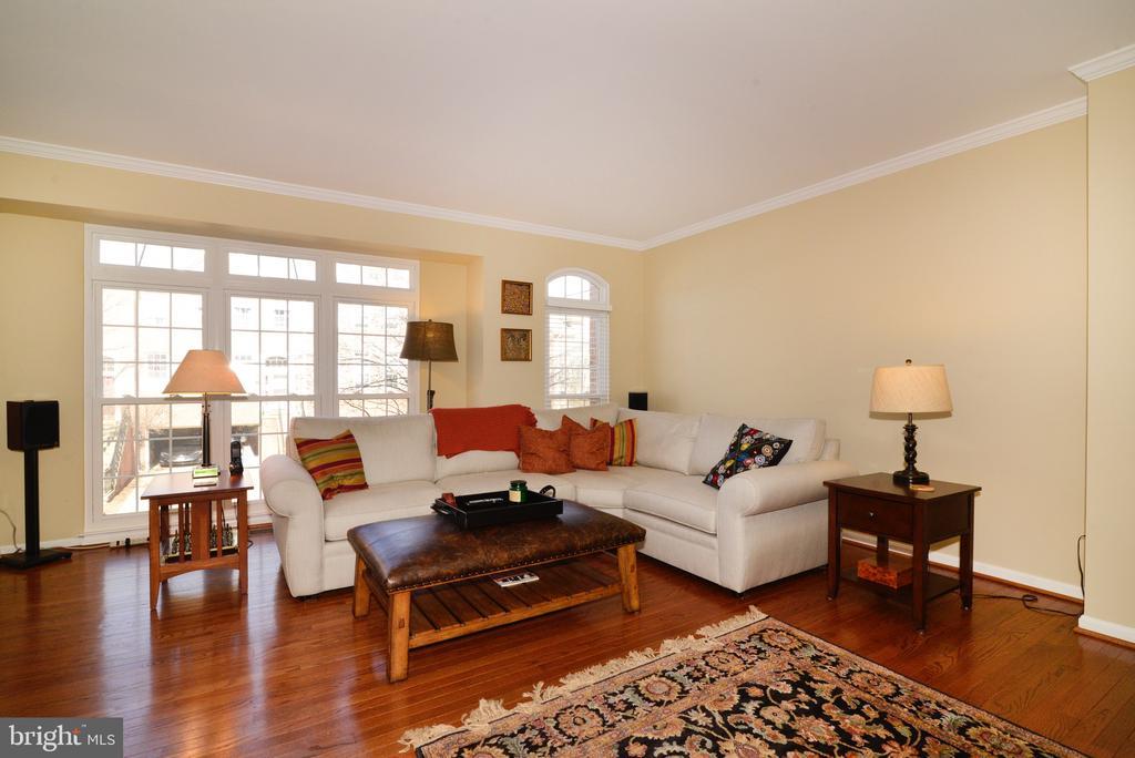 Spacious Living Room - 12171 TRYTON WAY, RESTON